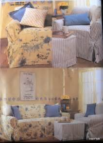 slipcover sewing pattern slip cover sofa club chair pillows ebay