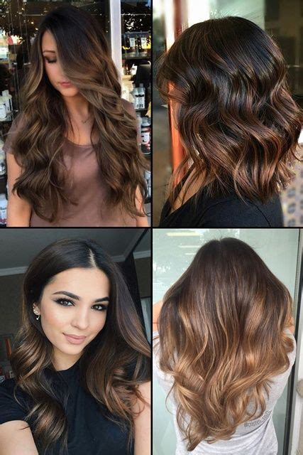 top  chocolate brown hair  highlights hairstyles