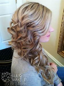 Side swept curls. | Hair styles | Pinterest | Beautiful ...