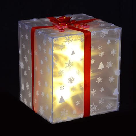 christmas light  gift box decoration  red ribbon bow