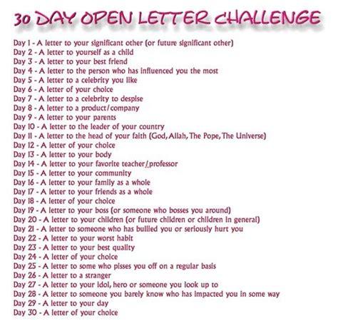 day letter challenge explore dream discover