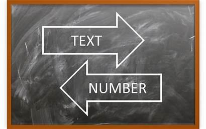 Text Excel Numbers Convert Microsoft Stored Number