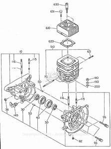 Robin  Subaru Ec12 Mikasa Parts Diagram For Crankcase