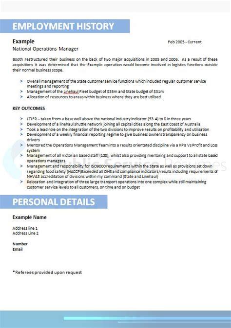 Ensure Customer Satisfaction Resume by Striking Blue Resume Design 187 Service Resumes