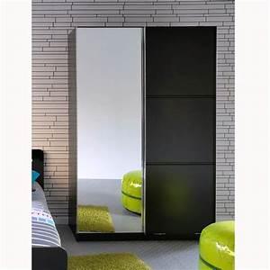 armoire chambre porte coulissante pas cher advice for With armoire murale porte coulissante