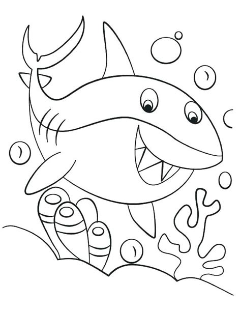 baby shark coloring pages  getcoloringscom