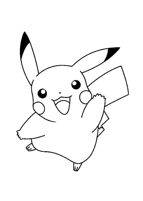 pikachu coloring pages    print