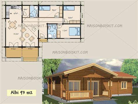 maison 3 chambres a vendre modèles de maisons en bois de moins de 100 m2