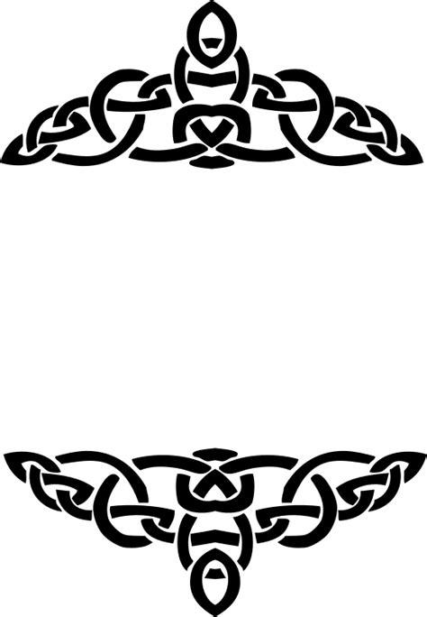 Celtic Clip Clipart Celtic Knot Line Frame 6