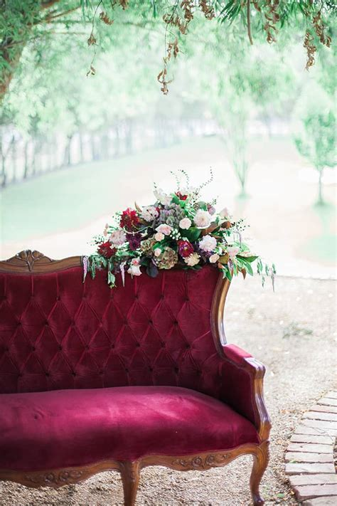geometric wedding inspiration  burgundy  gold