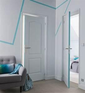 suivez la ligne pour animer un mur blanc une ligne de With nice couleur pour un couloir 3 deco couloir peinture couleur rangements cate maison