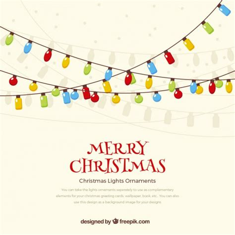 merry christmas light vector merry christmas lights background vector free download