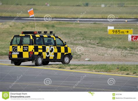 Airport Cars by Follow Me Airport Car Royalty Free Stock Image Image