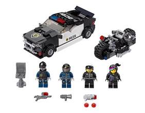 LEGO Bad Cop Car Chase Movie