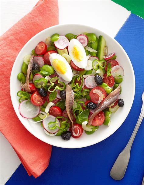 site de recettes cuisine salade niçoise pour 4 personnes recettes à table