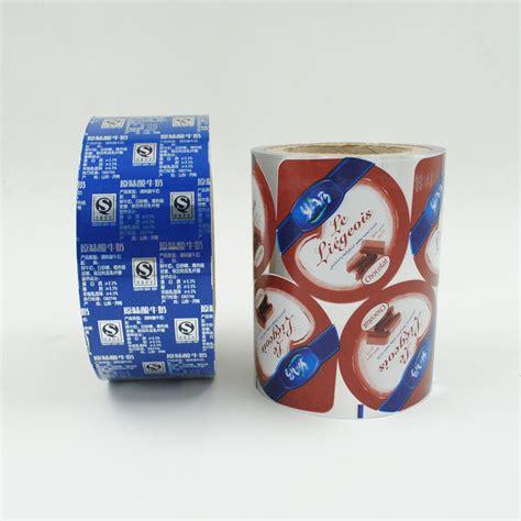aluminium foil cup seal film  yogurt cup seal  cup seal