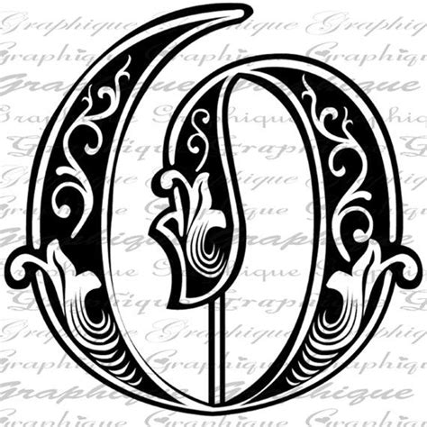 letter initial  monogram  engraving style type  graphique lettering alphabet monogram