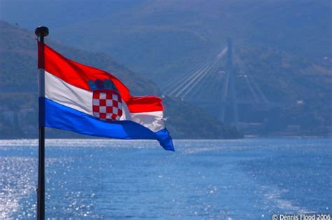 The Croatian Flag | July 19, 2006 | Dennis Flood Photography