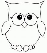Coloring Owl Pages Popular sketch template
