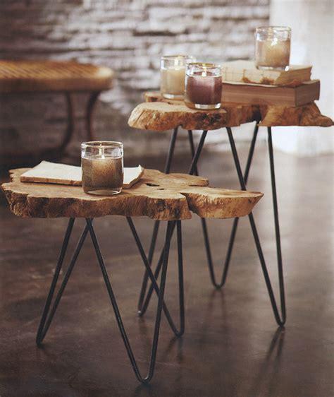 1001+ Idées  Table En Rondin De Bois  Un Tronc Peut En