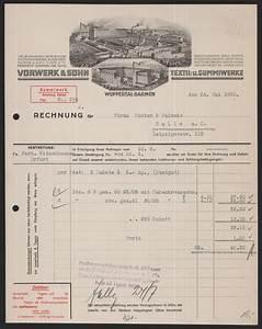 Radio Wuppertal Rechnung : rechnung wuppertal 1933 vorwerk sohn textil und gu ebay ~ Themetempest.com Abrechnung