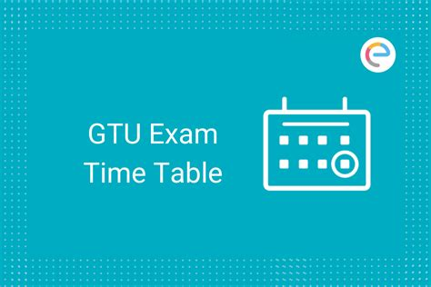 GTU Time Table MCQ Winter 2020-21 (Postponed): Get Details
