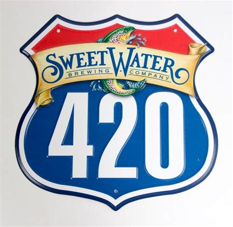Mini 420 Highway Sign – SweetWater Brewing Company Schwag Shop