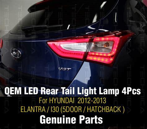 genuine parts led rear light l l r 4p for hyundai