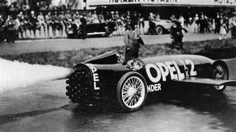 Opel Raketenauto by Opel Rocket Programme 1928 1929 Rak 2 Rak 3 Och Sander