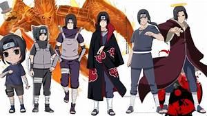 Naruto characters: Uchiha Itachi's Evolution - YouTube