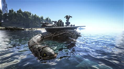 Ark Cannon Boat by Ark Survival Evolved Introducing The Angler The Ark
