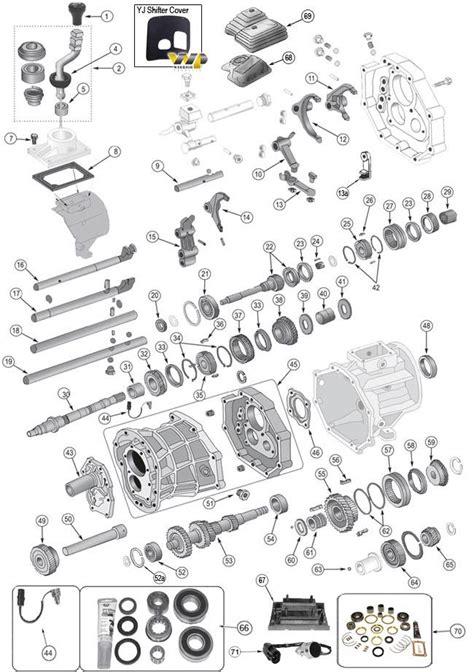 ax transmission parts   grand cherokee zj parts