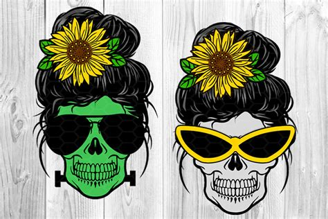 We would like to show you a description here but the site won't allow us. Messy Bun and Sunglasses Skull Mom Sublimation PNG By ...