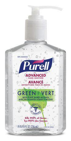 purell advanced green hand sanitizer walmart canada