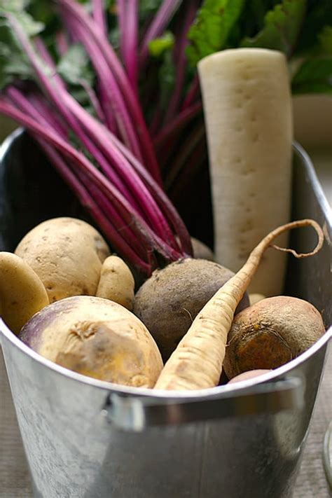 cook  turnips beets parsnips