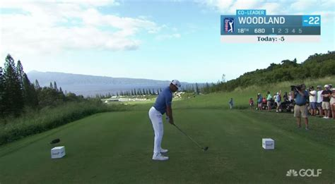 Golf Channel Revamps Graphics Package for Live Coverage