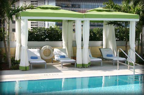 dac architectural resort  pool cabanas