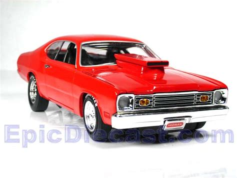 plymouth duster super street  epic diecast cars