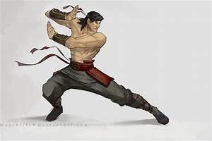 .Liu Kang. by MadiBlitz on DeviantArt