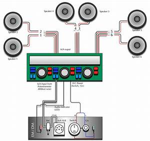 6 Speakers 4 Channel Amp Wiring Diagram  6  Wiring Diaram