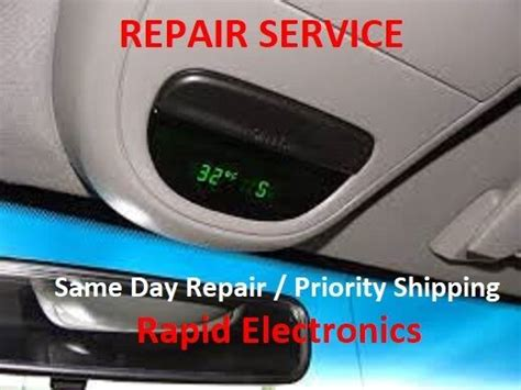 ford overhead console temp compass fuel display repair f series explorer expedit ebay