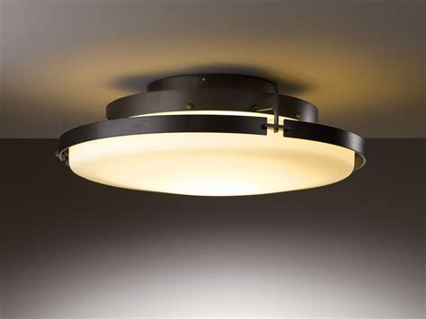 kitchen light fixture hubbardton forge 126747d metra 24 3 quot wide led ceiling