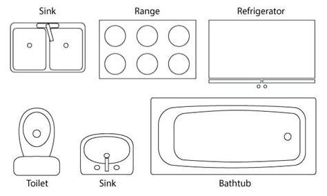 kitchen floor plan symbols appliances kitchen floor plan symbols appliances plan symbols kitchen 8073