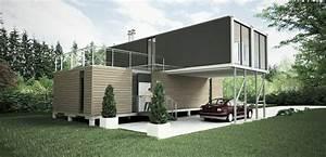 Container Haus Architekt : container haus das traumhafte eigenheim ~ Indierocktalk.com Haus und Dekorationen