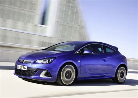 opel astra opc pricing