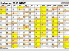 Kalender 2016 NRW Download Freewarede