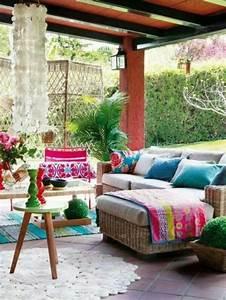 Styl Deco Veranda : d coration de v randa boh me 19 id es inspirantes ~ Premium-room.com Idées de Décoration