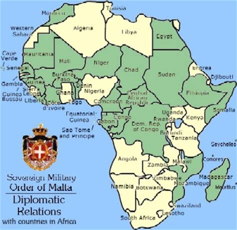 The Sovereign Military Order of Malta in Africa