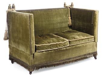 knole settee a knole sofa early 20th century christie s