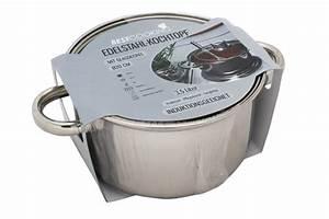 Kochtopf 5 Liter : induktions edelstahl kochtopf 3 5 liter 20 cm mit glas deckel topf kochen braten ebay ~ Eleganceandgraceweddings.com Haus und Dekorationen